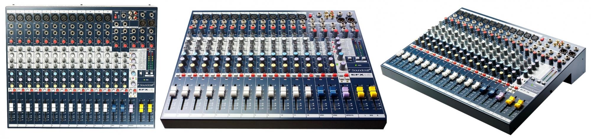 Bàn Mixer Soundcraf EFX12
