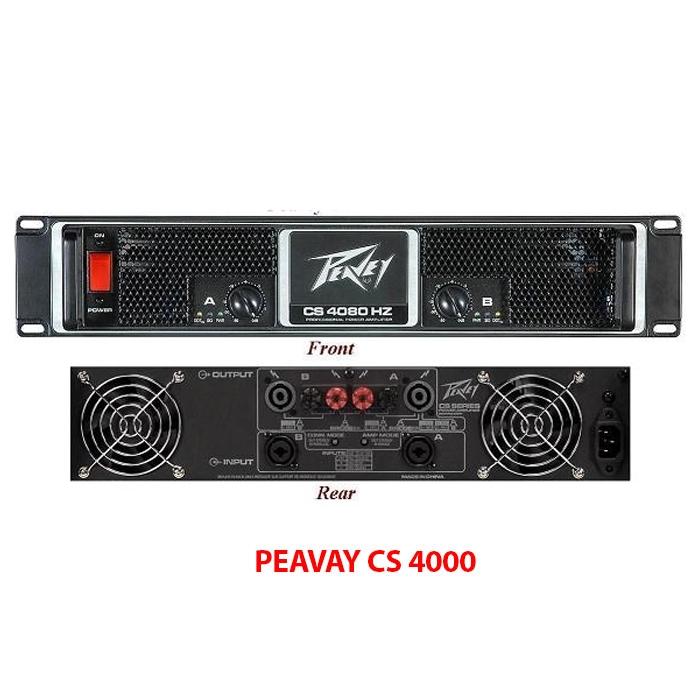 Cục đẩy công suất Peavey CS4000
