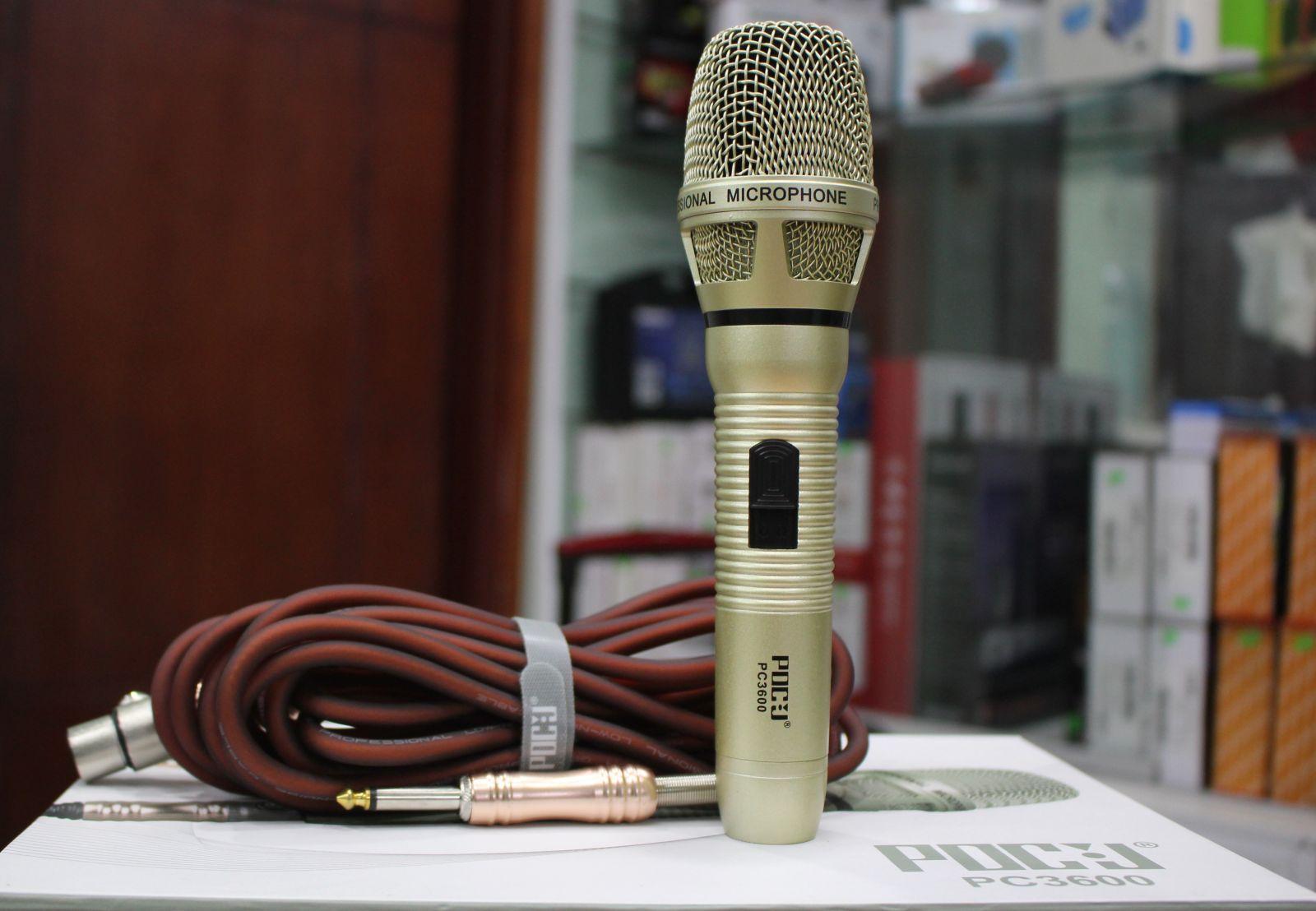 micro có dây PDCJ PC3600