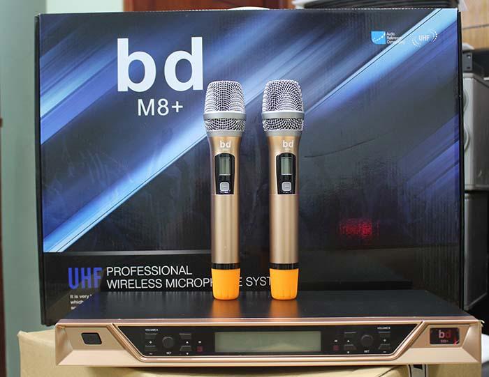 micro không dây BD M8+