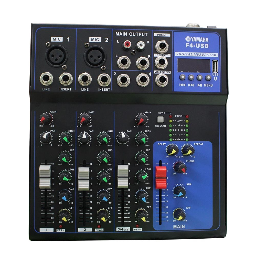 Bàn Mixer Yamaha F4-USB (4 kênh)