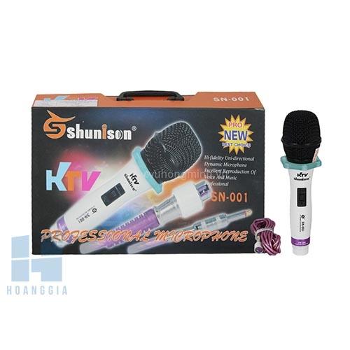 Micro có dây SHUNISON SN-001