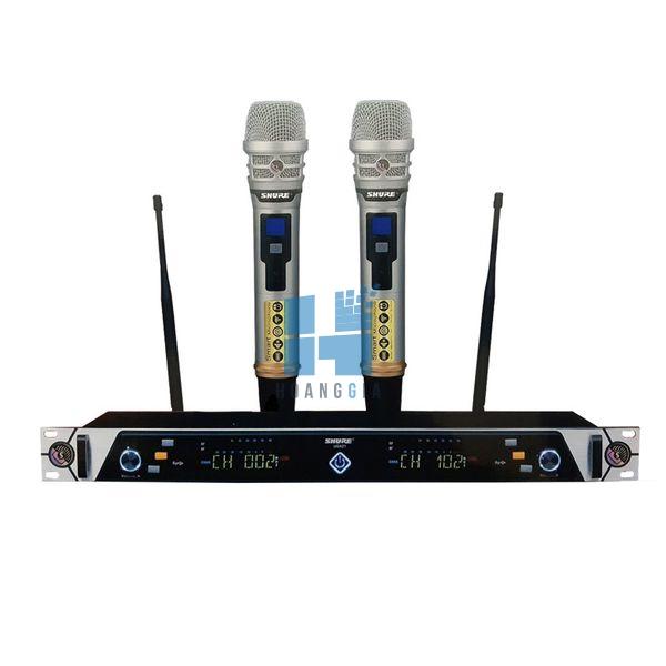 Micro không dây SHURE UGX 21 ( 4 Anten thu sóng)