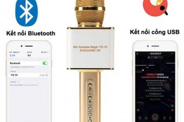 Bạn biết micro karaoke bluetooth loại nào tốt chưa?