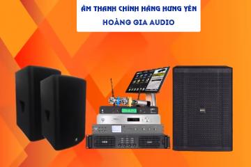 Lắp đặt âm thanh chuyên nghiệp tại Hưng Yên