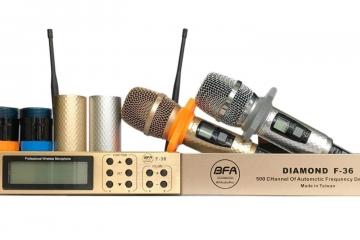 Tầm quan trọng của tần số đối với một chiếc micro không dây