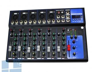 Bàn Mixer Yamaha F7 USB (7 kênh)
