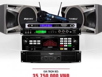 Bộ dàn karaoke cho gia đình PARAMAX 10