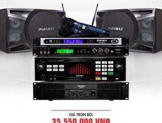 Bộ dàn karaoke cho gia đình PARAMAX 7