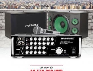 Bộ dàn karaoke gia đình PARAMAX 3
