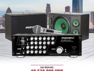 Bộ dàn karaoke PARAMAX 2
