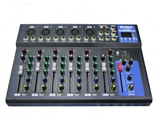 Mixer Yamha F7MB Bluetooth ( Chống hú 99%)